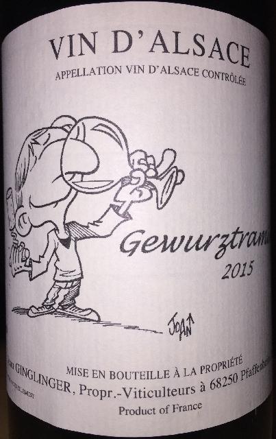 Gewurztraminer Ginglinger 2015