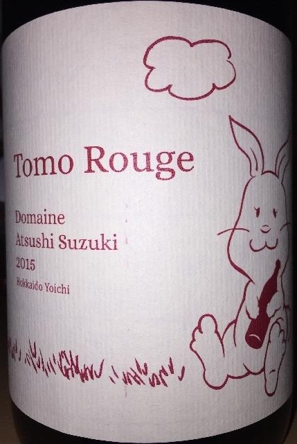 Tomo Rouge Domaine Atsushi Suzuki 2015