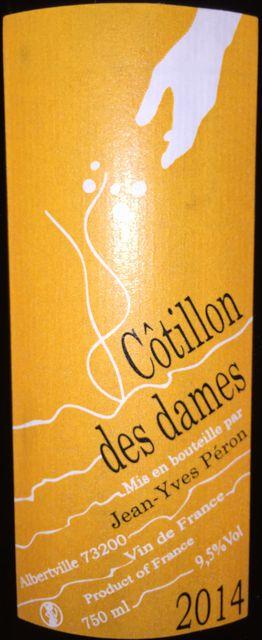 Cotillon des dames Jean Yves Peron 2014