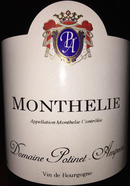 Monthelie Domaine Potinet Ampeau 1999