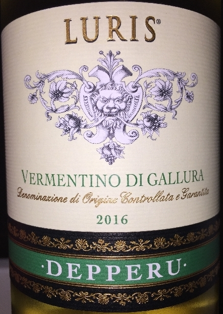 Luris Vermentino di Gallura Depperu 2016 part1