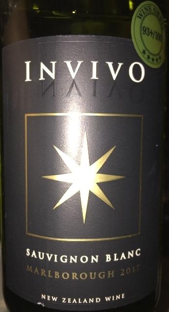 Invivo Sauvignon Blanc 2017