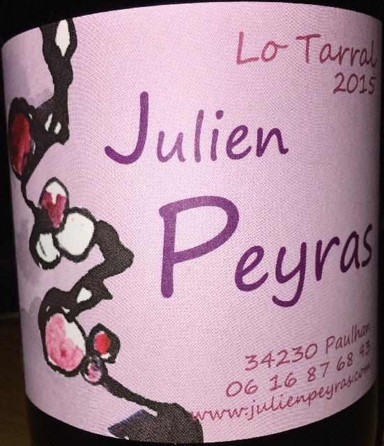 Lo Tarral Julien Peyras 2015