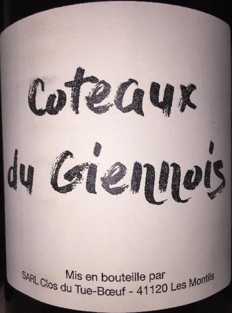 Coteaux du Giennois Clos du Tue Boeuf 2015 part1