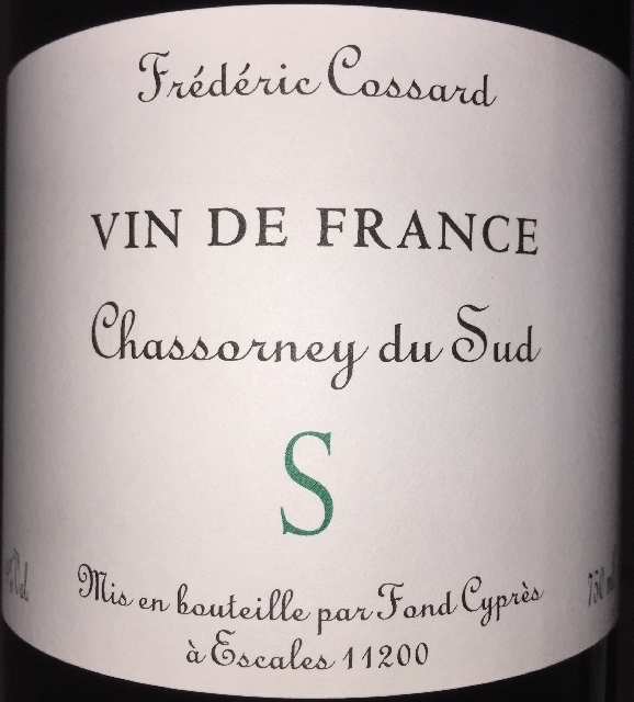 Chassorney du Sud S Frederic Cossard 2015