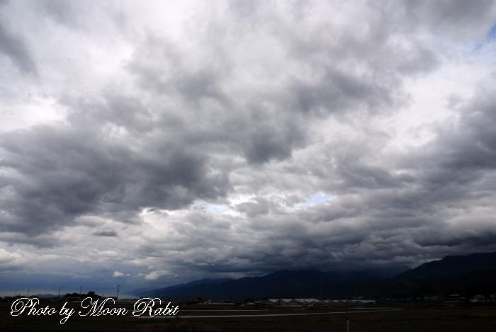 6月の雲 愛媛県西条市周布