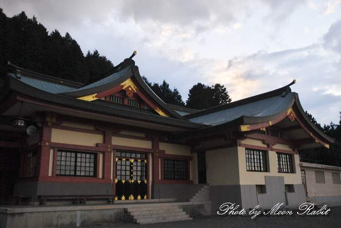 石鎚神社本殿にて 愛媛県西条市西田甲797