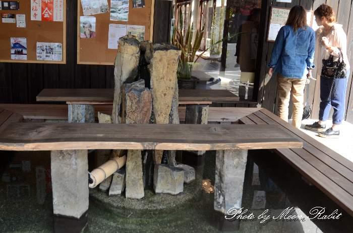 足湯 湯之谷温泉