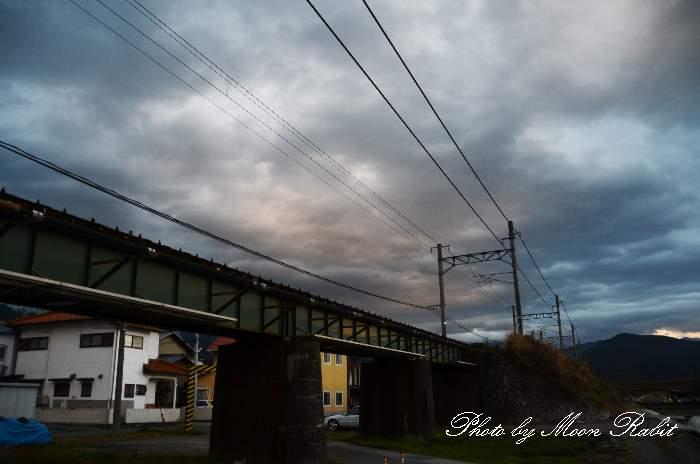 高架線 予讃線 加茂町 愛媛県西条市