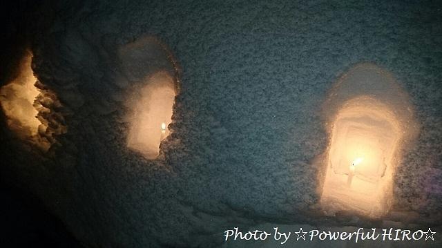 雪灯篭 (2)