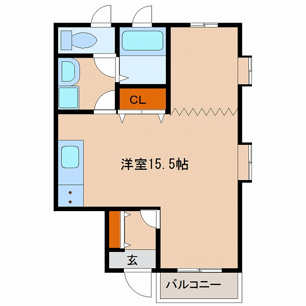 エル・シーズⅣ(1号室)