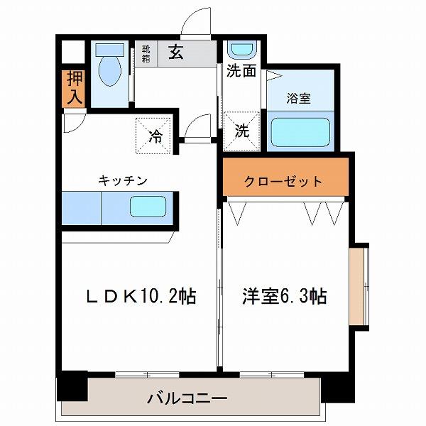 スプレーモ田代(3号室)