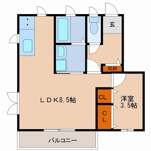 エルシーズ大塚弐番館(2号室)