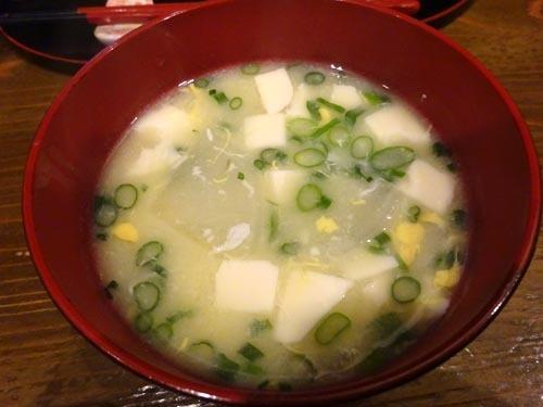 68味噌汁
