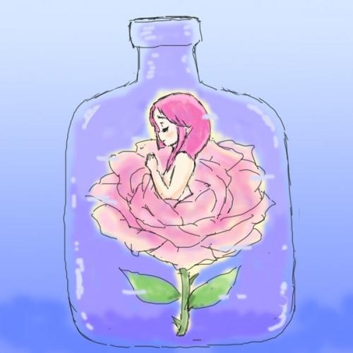 孤独な薔薇