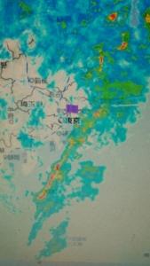 180309 雨雲レーダー