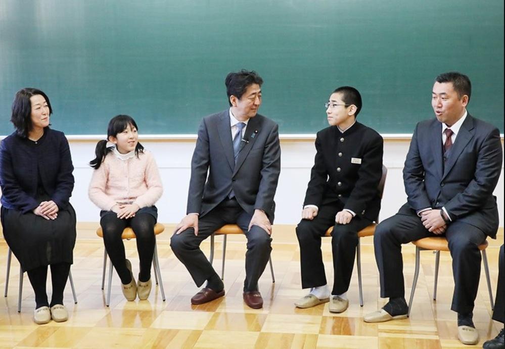 安倍晋三小学校2