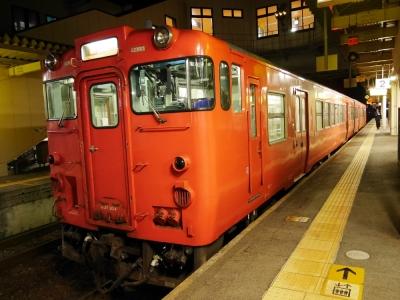 山陰本線 浜田駅