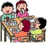 学校給食イラスト