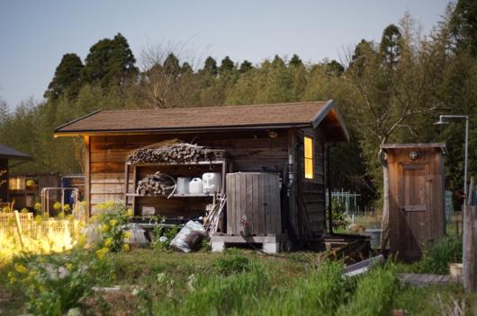 房総フィールド 月明かりの小屋