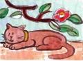 猫と椿玉の浦