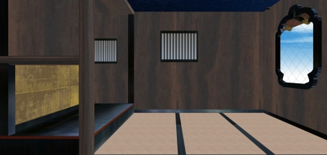三階摘星楼の内部