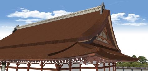 紫宸殿の屋根形状