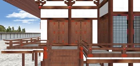 紫宸殿の北廂