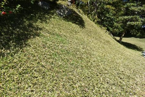 仙洞御所-笹の築山