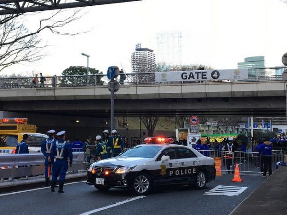 交通規制 東京マラソン