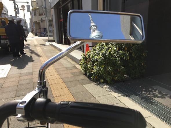ナポレオンミラー 自転車