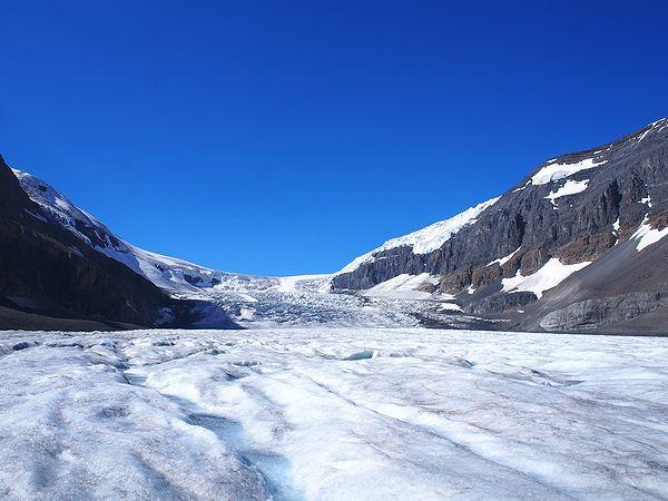 カナディアンロッキーの氷河
