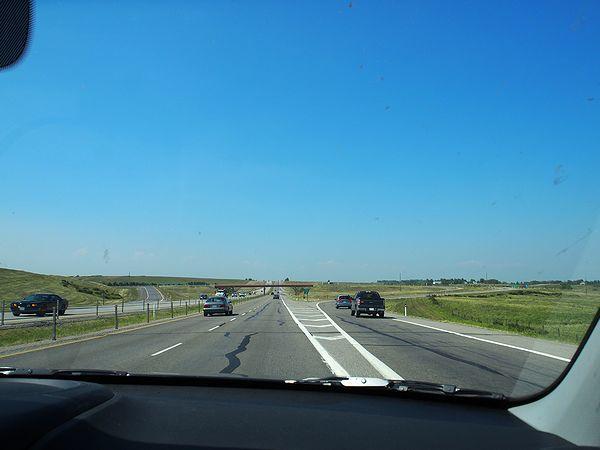 カナダの国道1号線
