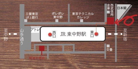 壱兆庵地図