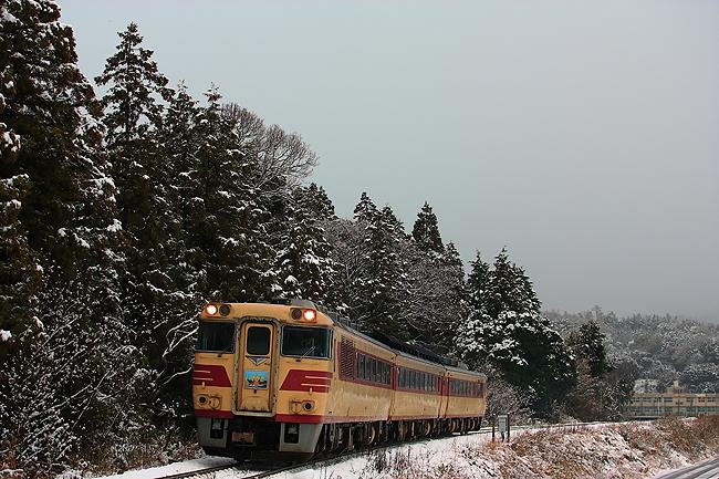 雪の長門大井