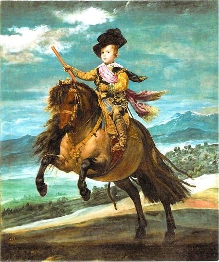ベラスケス 王太子バルタサール・カルロス騎馬像