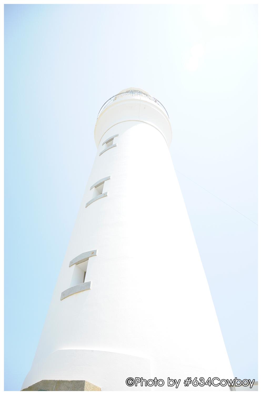 輝きを増す白亜の灯台 写真