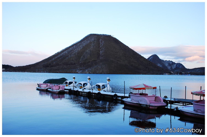 冬の榛名富士 写真