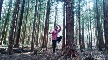 森の瞑想①
