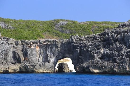 南島海食洞