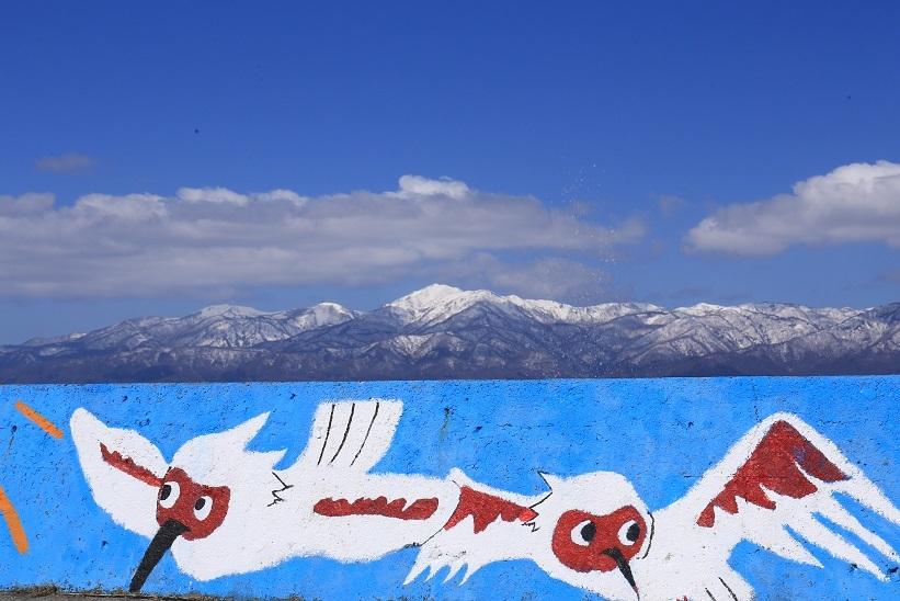 トキと大佐渡の山