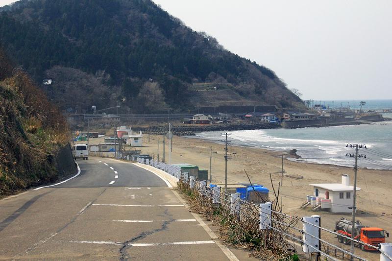 災害復旧道路