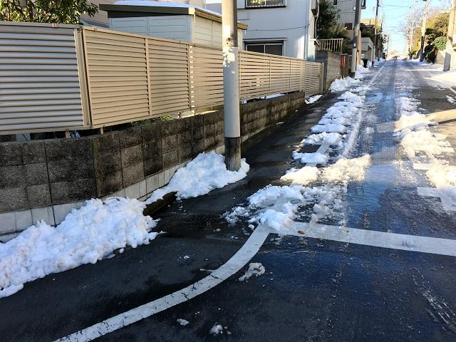 大雪の東京街中3 by占いとか魔術とか所蔵画像