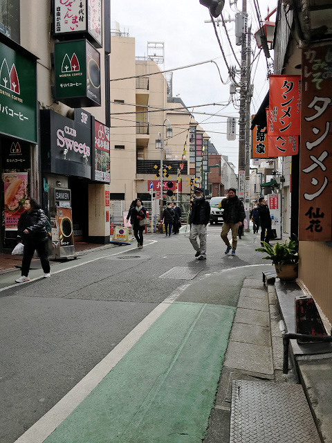 どんより曇り北風が吹く寒い日の東京1@2018年2月12日 by占いとか魔術とか所蔵画像