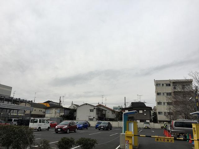 どんより曇り北風が吹く寒い日の東京2@2018年2月12日 by占いとか魔術とか所蔵画像
