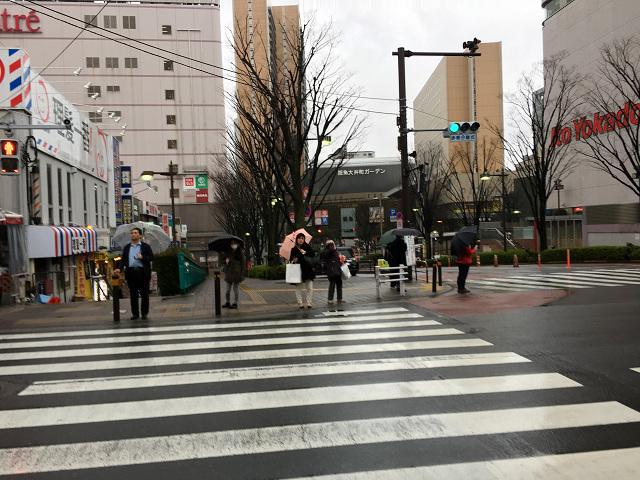 一旦は春も真冬に逆戻りした東京雨の街中@2018年3月8日2 by占いとか魔術とか所蔵画像