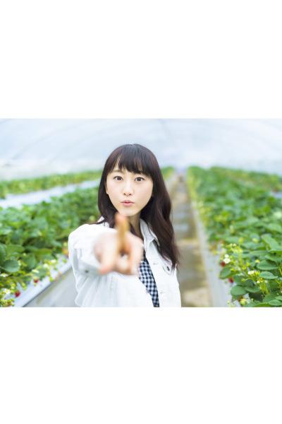 2018 春の風景 苺畑 松井玲奈 4