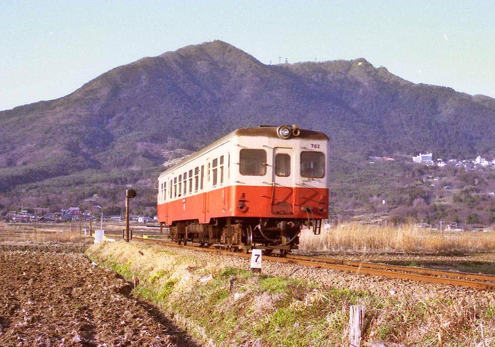 晩秋の筑波鉄道筑波線