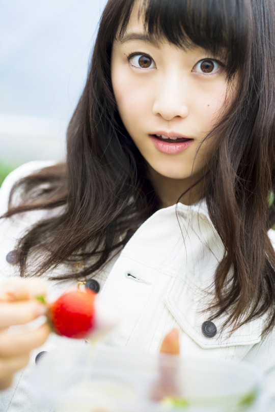 2018 春の風景 苺畑 松井玲奈 6