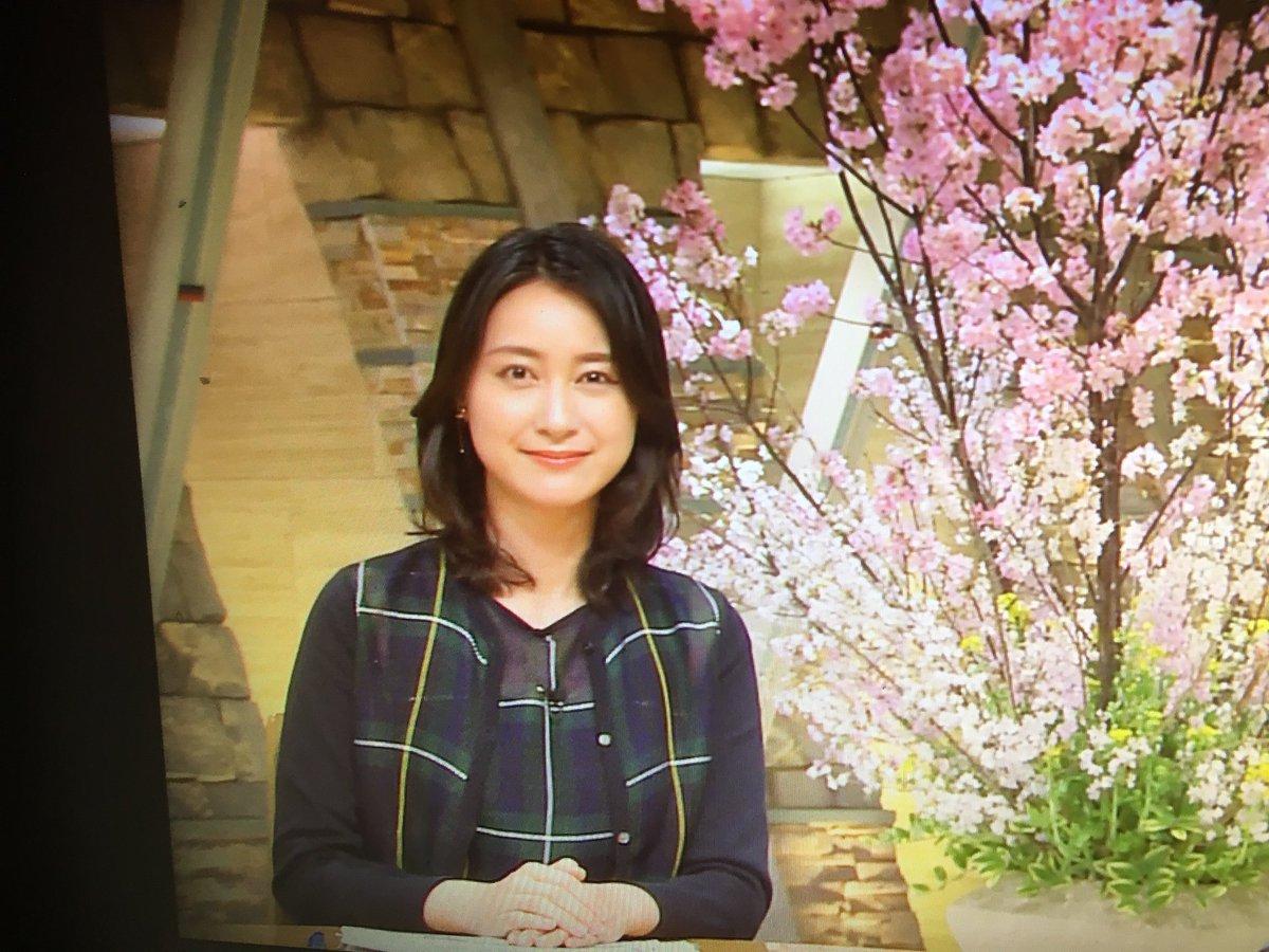 報ステの小川アナ 2018 桜